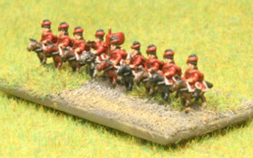 6mm Russian 7YW Hussars