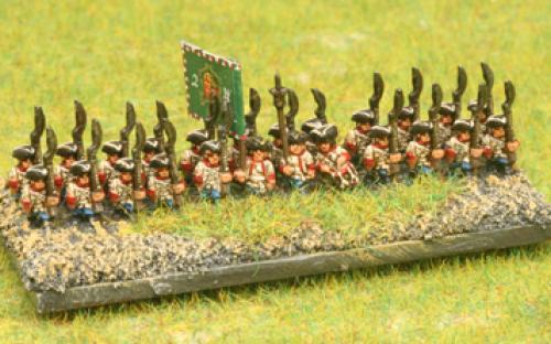 6mm 7YW Austrian (Hungarian) infantry