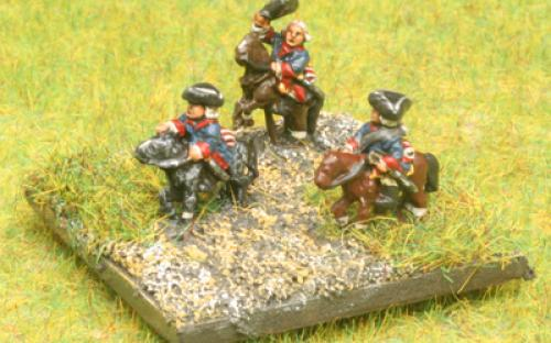 6mm 7YW Prussian Generals (buy separately)