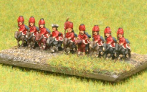 6mm 7YW French Hussars