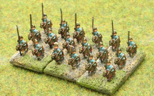 6mm Warmaster Ancients Successor army: Cataphracts