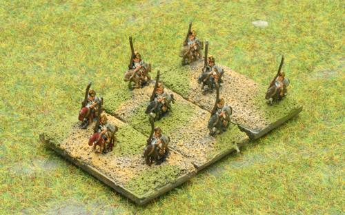 6mm Warmaster Ancients Macedonian army: Light cavalry