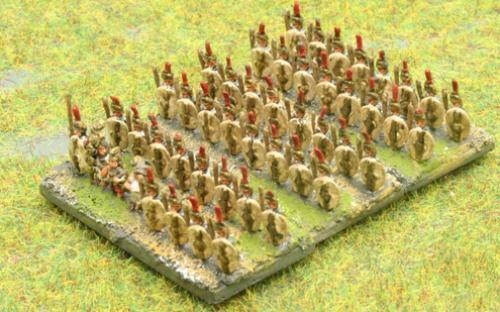 6mm Warmaster Ancients Republican army: Allied infantry