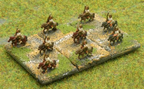 6mm Warmaster Ancients Republican army: Mounted skrimishers